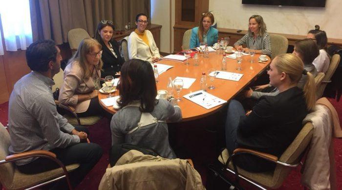 Тркалезна маса за промоција на женскиот спорт во Р. Македонија