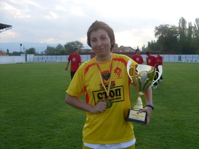"""Гордана Кочева: """"Фудбалот е еднаков за сите!"""""""