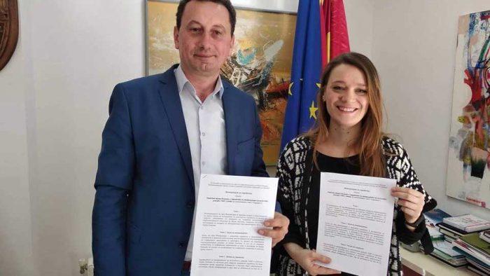 Signed a MOU with Municipality of Kriva Palanka