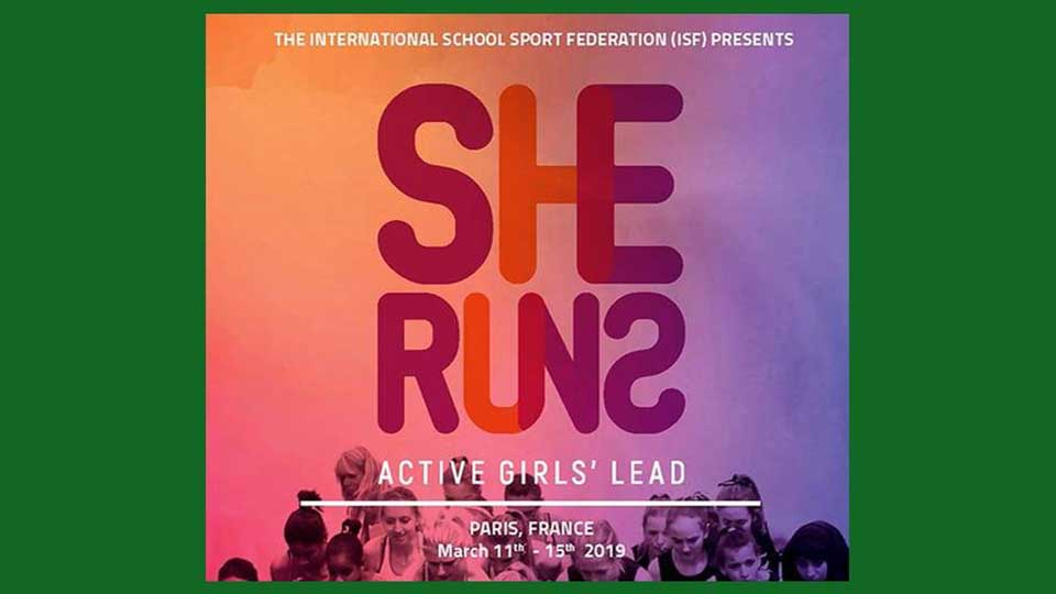 Participation in the sports program She Runs Active girls' lead
